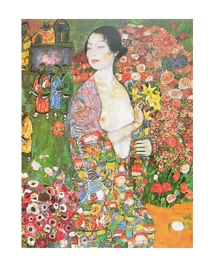 gustav klimt die taenzerin poster kunstdruck bei. Black Bedroom Furniture Sets. Home Design Ideas