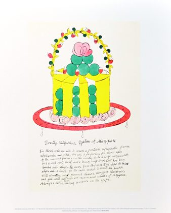 Andy Warhol Wild Raspberries 1959 (yellow & green)
