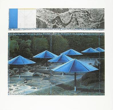 Christo The Umbrellas