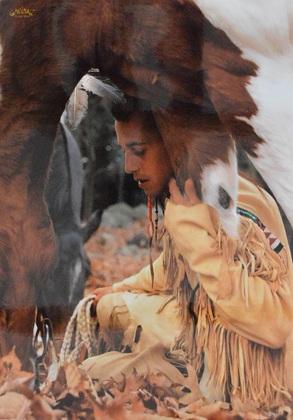 Gabrielle  Boiselle Indianer 3