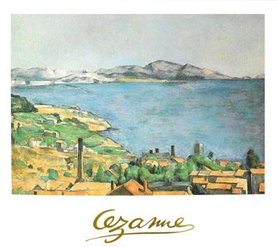 Paul Cezanne Das Meer bei Marseille