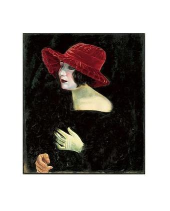 Otto Dix Bildnis Frau Martha Dix