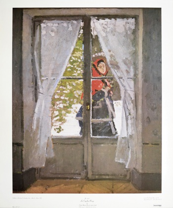 Claude Monet La Capeline Rouge