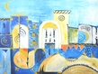 Gabriele Ritter Blaue Stadt