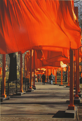Christo The Gates - New York Central Park