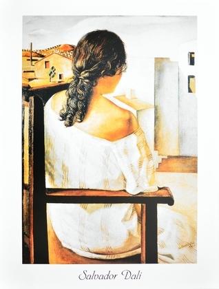 Salvador Dali Sitzende Frau von Hinten