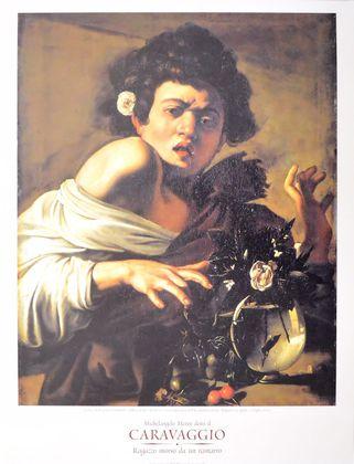 Caravaggio Ragazzo morso da un ramarro