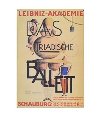 Oskar Schlemmer Das triadische Ballett