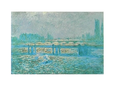 Claude Monet Charing Cross Bridge