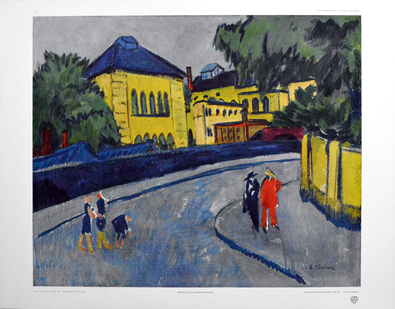 Ernst Ludwig Kirchner Dresden - Friedrichstadt, 1909