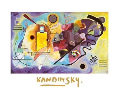 Wassily Kandinsky Jaune, Rouge, Bleu I