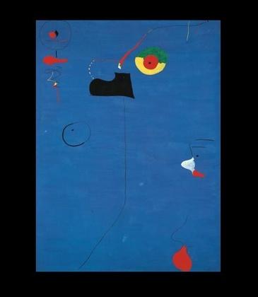 Joan Miro Gemälde Fratellini, 1927