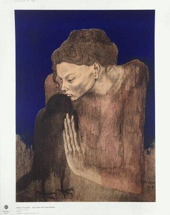 Pablo Picasso Die Frau mit dem Raben