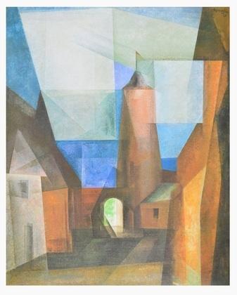 Lyonel Feininger Der Gruetzturm in Treptow