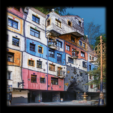 Friedensreich Hundertwasser Hundertwasserhaus Wien