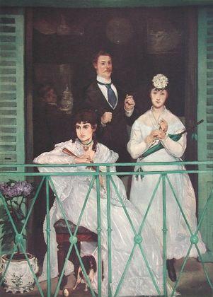 Edouard Manet Auf dem Balkon
