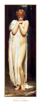 Frederic Leighton The Nymph of the River