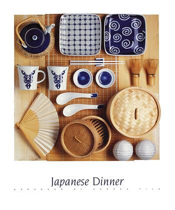 Andrea Tilk Japanese Dinner