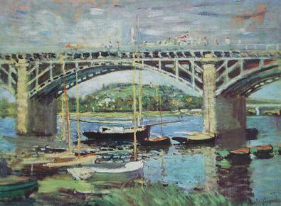 Claude Monet Die Seinebruecke von Argenteuil