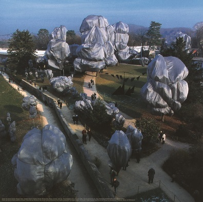 Christo Wrapped Trees Nr. 15 (Riehen)