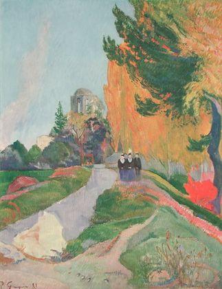 Paul Gauguin Les Alyscamps  Arles