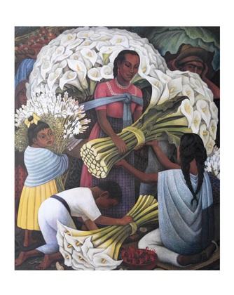 Diego Rivera The Flower Vendor
