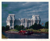 Christo und Jeanne-Claude Reichstag Mappe II, Nordfassade+Spree,sign, num
