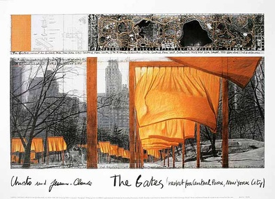 Christo The Gates IX Plakat