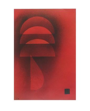 Wassily Kandinsky Gedämpfte Glut