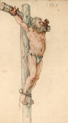 Albrecht Duerer Der gute Schaecher am Kreuz