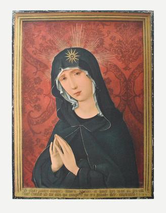 Hans Holbein Trauernde Maria