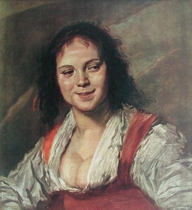 Frans Hals Die Zigeunerin