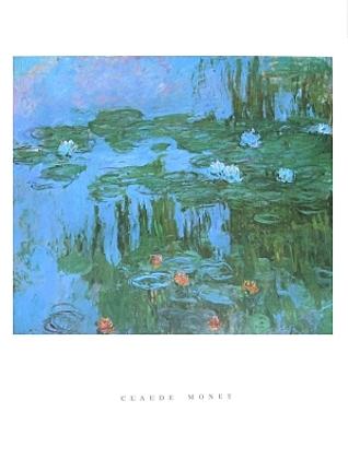 Claude Monet Seerosen Poster