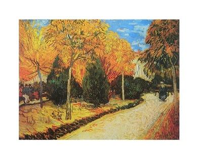 Vincent van Gogh Park im Herbst