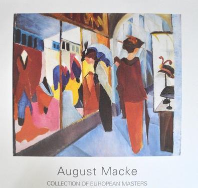 August Macke Modegeschaeft, 1913