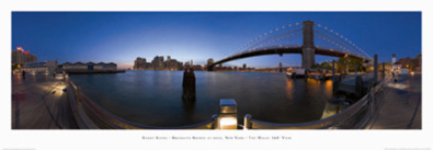Randy Kosek Brooklyn Bridge at dusk