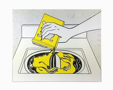 Roy Lichtenstein Washing Machine