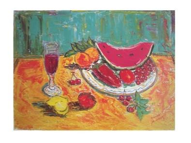 Ernest Audibert Die Wassermelone