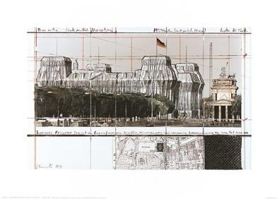 Christo Reichstag IX