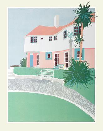 Nicht bekannt Pink and White Villa