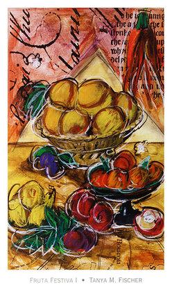 Tanya M. Fischer 2er Set 'Fruta Festiva I-II'
