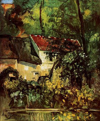 Paul Cezanne House of Pere Lacroix (klein)