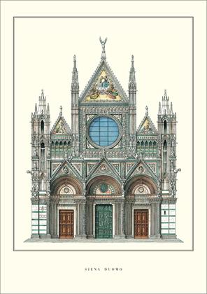 Unbekannter Kuenstler Siena, Duomo