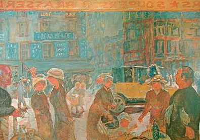 Pierre Bonnard La Place Clichy