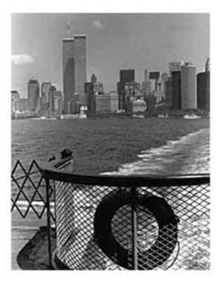 Christopher Bliss Manhattan form Ferry