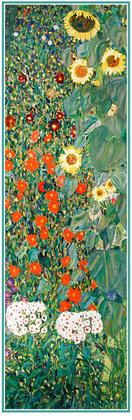Gustav Klimt Garden of Sunflowers (detail), 1912