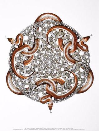 MC Escher Schlangen