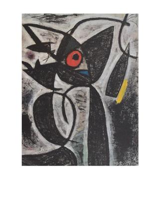 Joan Miro L Oeil Rouge (1964)