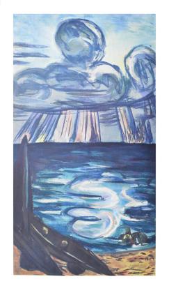 Max Beckmann Meer und Wolken