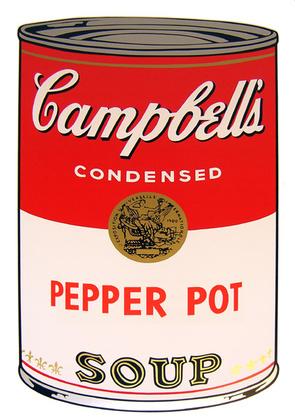 Andy Warhol Campbells Soup - Pepper Pot